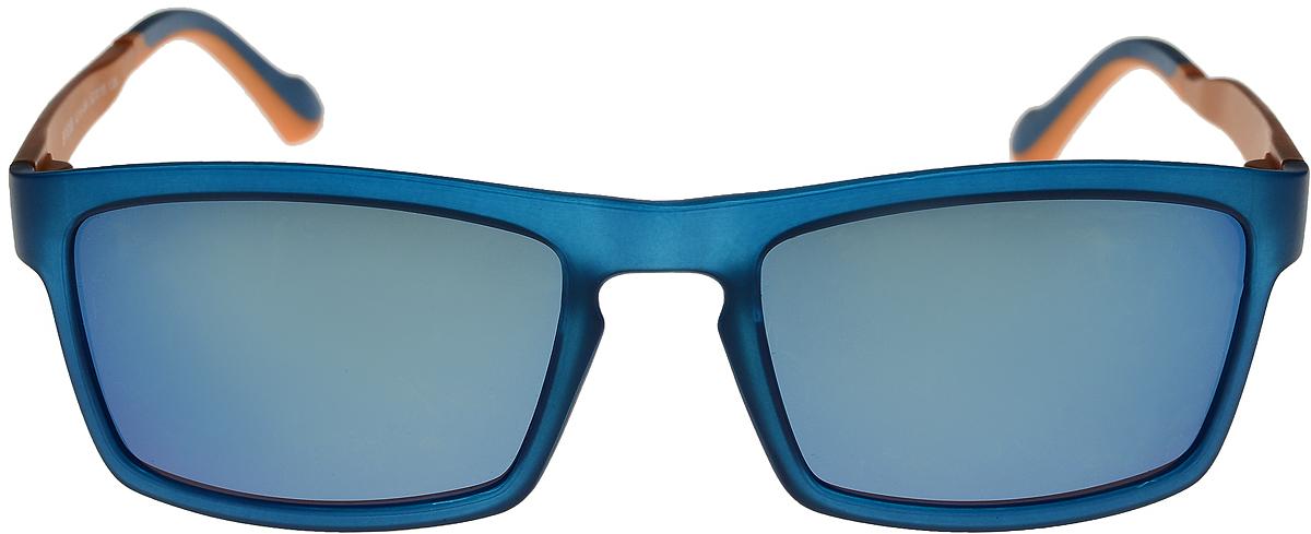 Очки солнцезащитные мужские Vittorio Richi, цвет: синий, оранжевый. ОС528A218-464/17fBM8434-58AEОчки солнцезащитные Vittorio Richi это знаменитое итальянское качество и традиционно изысканный дизайн.