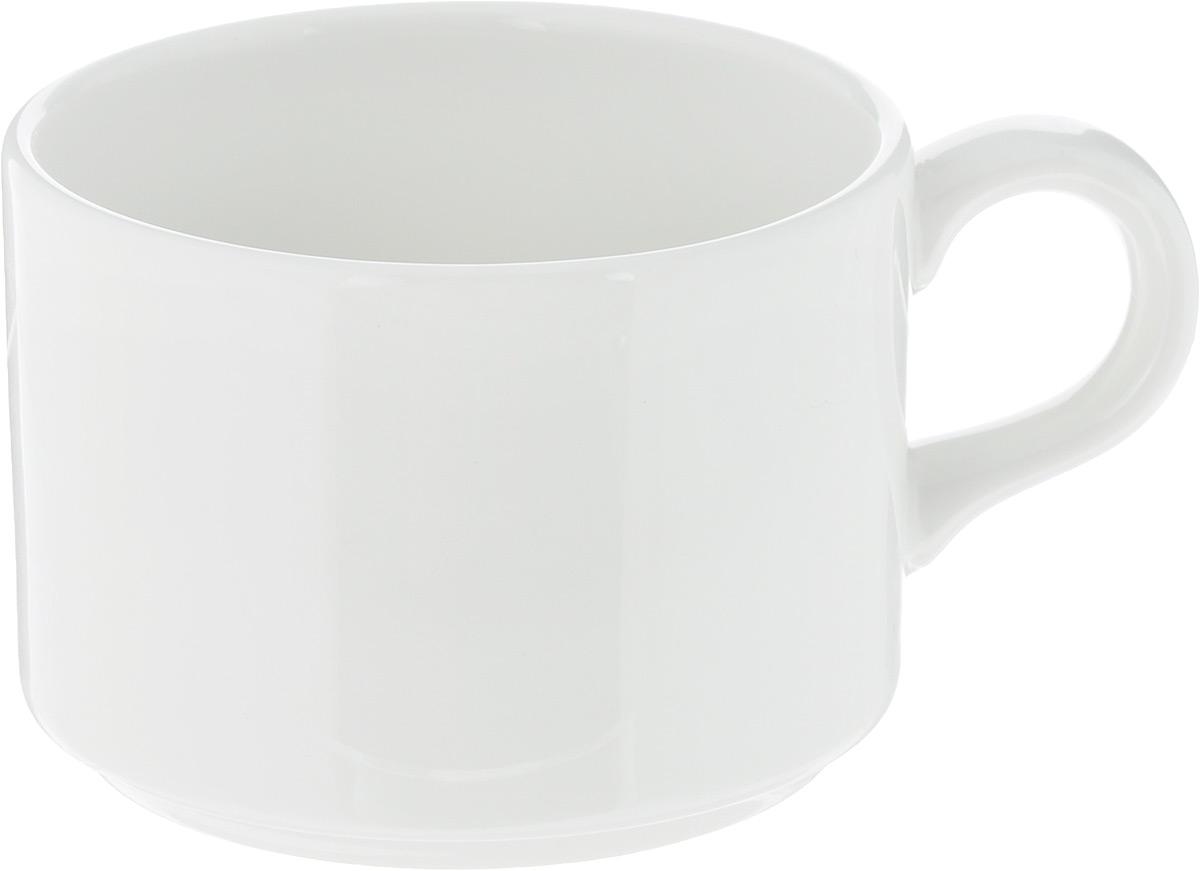 Чашка чайная Ariane Прайм, 230 мл391602Чашка Ariane Прайм выполнена из высококачественного фарфора с глазурованным покрытием. Изделие оснащено удобной ручкой. Нежнейший дизайн и белоснежность изделия дарят ощущение легкости и безмятежности.Изысканная чашка прекрасно оформит стол к чаепитию и станет его неизменным атрибутом.Можно мыть в посудомоечной машине и использовать в СВЧ.Диаметр чашки (по верхнему краю): 8 см.Высота чашки: 6 см.