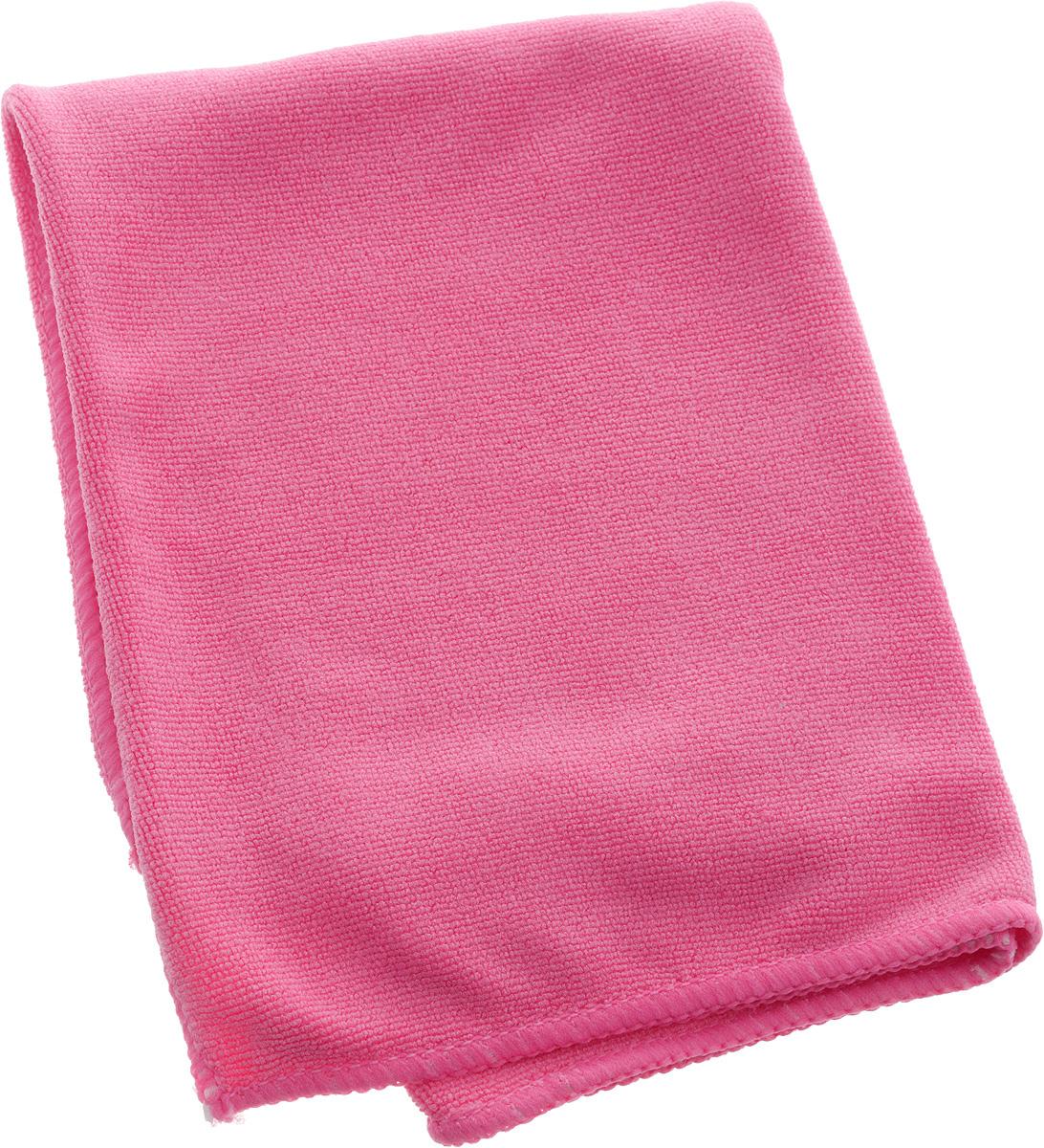 Салфетка из микрофибры Airline, цвет: розовый, 40 х 60 смIRK-503Мягкая салфетка Airline выполнена из микрофибры. Мягкий ворс микрофибры очистит поверхность от пыли и загрязнений, микробов и грибков, и не отставит царапин. Материал хорошо впитывает жидкость, быстро сохнет и не подвержен быстрому износу после многочисленных стирок.