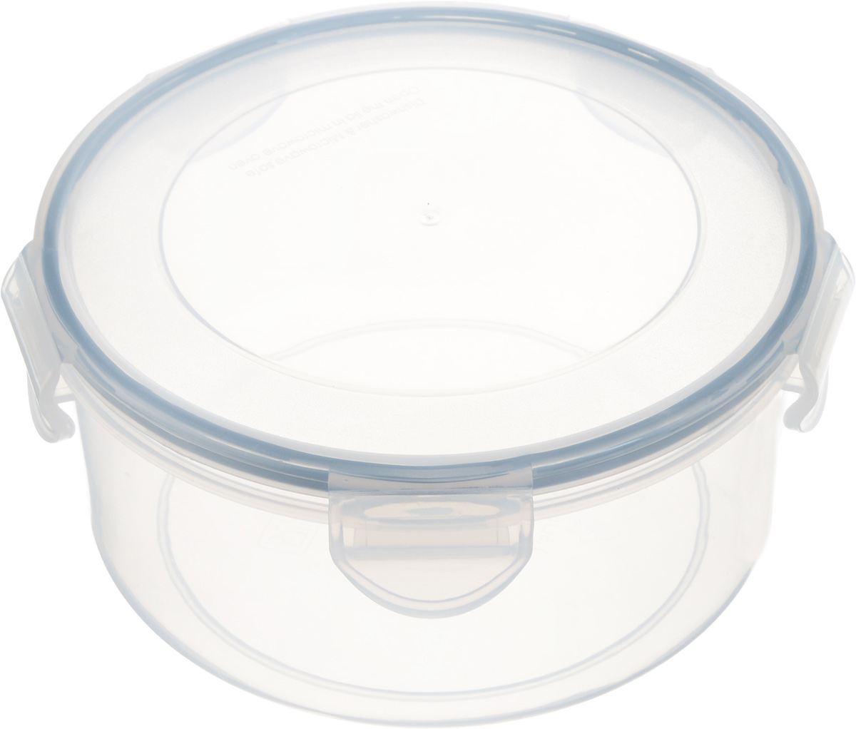 Контейнер Tescoma Freshbox, круглый, 1,5лVT-1520(SR)Круглый контейнер Tescoma Freshbox изготовлен из высококачественного пластика. Изделие идеально подходит не только для хранения, но и для транспортировки пищи. Контейнер имеет крышку, которая плотно закрывается на 5 защелок и оснащена специальной силиконовой прослойкой. Изделие подходит для домашнего использования, для пикников, поездок, отдыха на природе, его можно взять с собой на работу или учебу. Можно использовать в СВЧ-печах, холодильниках и морозильных камерах. Можно мыть в посудомоечной машине.Диаметр контейнера (без учета крышки): 17 см. Высота контейнера (без учета крышки): 8 см.