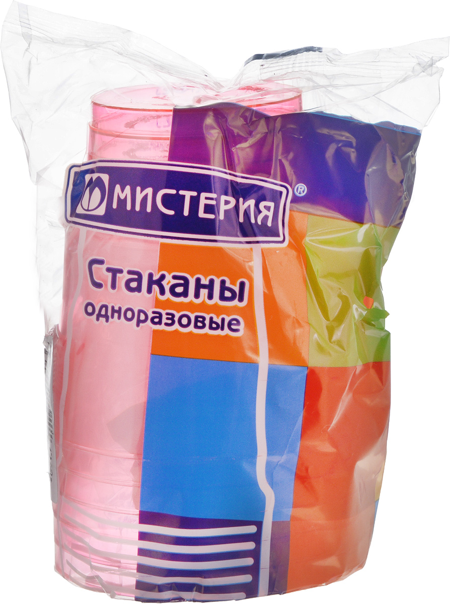 Набор одноразовых стаканов Мистерия Кристалл, цвет: розовый, 200 мл, 6 шт187405_желтыйНабор Мистерия Кристалл состоит из 6 стаканов, выполненных из полистирола и предназначенных для одноразового использования.Одноразовые стаканы будут незаменимы при поездках на природу, пикниках и других мероприятиях. Они не займут много места, легки и самое главное - после использования их не надо мыть.Диаметр стакана (по верхнему краю): 7,5 см.Высота стакана: 8 см.Объем: 200 мл.