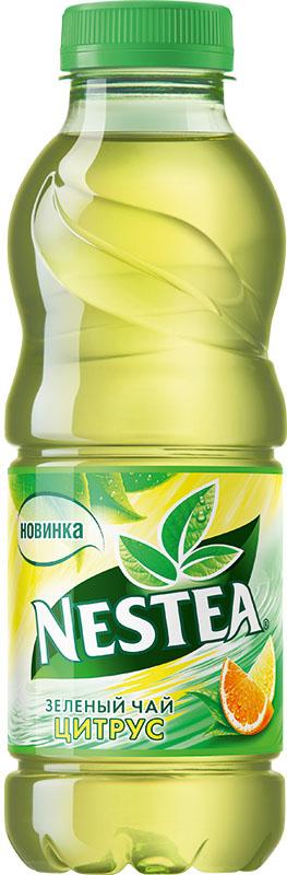Nestea Цитрус зеленый чай, 0,5 л1332101Освежающий чай Nestea или айс-ти (от английского ice-tea ледяной чай) - это напиток без консервантов, приготовленный из лучших сортов чая с добавлением фруктовых и ягодных соков. Обладает натуральным вкусом с уникальным сочетанием чая и свежих фруктов. Полное отсутствие консервантов, ароматизаторов, идентичных натуральным.Уважаемые клиенты! Обращаем ваше внимание на то, что бутылка может иметь несколько видов дизайна. Поставка осуществляется в зависимости от наличия на складе.