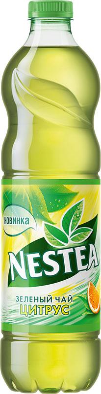 Nestea Цитрус зеленый чай, 1,75 л0120710Освежающий чай Nestea или айс-ти (от английского ice-tea ледяной чай) - это напиток без консервантов, приготовленный из лучших сортов чая с добавлением фруктовых и ягодных соков. Обладает натуральным вкусом с уникальным сочетанием чая и свежих фруктов. Полное отсутствие консервантов, ароматизаторов идентичных натуральным.Уважаемые клиенты! Обращаем ваше внимание на то, что бутылка может иметь несколько видов дизайна. Поставка осуществляется в зависимости от наличия на складе.