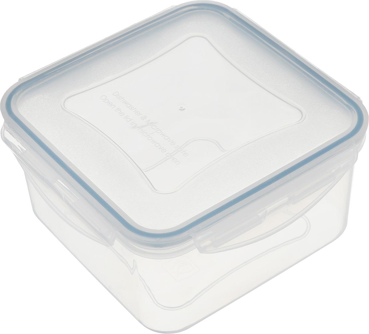 Контейнер Tescoma Freshbox, квадратный, 1,2 л4630003364517Квадратный контейнер Tescoma Freshbox замечателен для хранения и переноски продуктов. Выполнен из высокопрочной жаростойкой пластмассы, которая выдерживает температуру от -18°С до +110°С. Контейнера снабжен воздухонепроницаемой и водонепроницаемой крышкой с силиконовой прокладкой, которая гарантирует герметичность. Продукты дольше сохраняют свежесть и аромат, а жидкие блюда не вытекают. Контейнер очень вместителен, он отлично подойдет для хранения пищи дома, а также для пикников и выездов на природу. Контейнер пригоден для использования в холодильнике, морозильной камере и микроволновой печи. Допускается мытье в посудомоечной машине.