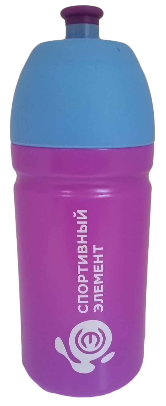 Спортивная бутылка Спортивный элемент Аметист, 500 мл. S24-500SF 0085Бутылка для воды Спортивный элемент , изготовленная из высококачественного пластика, оснащена крышкой, которая плотно и герметично закрывается, сохраняя свежесть и изначальную температуру напитка. Мягкий силиконовый носик бутылки предотвращает проливание и безопасен для зубов и десен. Изделие прекрасно подойдет для использования в жаркую погоду: вода долго сохраняет первоначальные свойства и вкусовые качества. При необходимости в бутылку можно наливать витаминизированные напитки, соки или протеиновые коктейли. Такую бутылку можно без опаски положить в рюкзак, закрепить на поясе или велосипедной раме. Она пригодится как на тренировках, так и в походах или просто на прогулке.
