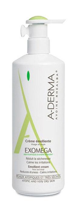 A-Derma Экзомега Смягчающий крем, 400 млVRU04523Смягчающий крем - это деликатное средство (эмолент) для ухода за атопичной и очень сухой кожей. Способствует снижению сухости, покраснения и раздражения атопичной и очень сухой кожи. Усиливает естественные защитные свойства кожи. Увлажняет и питает кожу, улучшая состояние кожи на длительное время. Уникальная, запатентованная технология упаковки D.E.F.I обеспечивает сохранение стерильности состава, как до вскрытия упаковки, так и на протяжении всего времени использования средства. Подходит для взрослых, подростков, детей, младенцев. Для лица и тела.