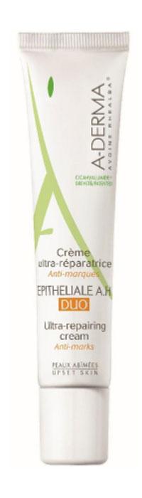 A-Derma Эпителиаль Duo Восстанавливающий крем, 40 млC57912Восстанавливающий крем обладает синергической эффективностью: ультразаживление и предупреждение формирования келоидных рубцов. Стимулируют быстрое заживление и восстановление кожи без эстетических дефектов, способствует выработке коллагена. Увлажняя и защищая, крем воссоздает благоприятные условия для полной регенерации кожи, оставляя ощущение комфорта и мягкости. Обеспечивает быстрое восстановление кожи без келоидных рубцов при повреждениях кожи (раны, ожоги и т.д), а также после любых хирургических, косметологический и дерматологических вмешательств (лазер, пилинг, мезотерапия, криотерапия, микрохирургическое вмешательство и т.д). Подходит для детей и взрослых. Для лица и тела. Протестировано под контролем дерматологов. Некомедогенно. Гипоаллергенно.