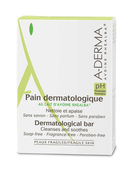 A-Derma Эссеншел Дермокосметическое мыло, 100 г12017131Мягкая формула мыла очищает, оставляя кожу увлажненной. Физиологический pH, адаптированный к потребностям хрупкой кожи, не нарушает естественный баланс и гидролипидную пленку кожи. Успокаивает и смягчает. Идеально подходит для всей семьи.«Мыло без мыла» для идеального бережного ухода. Относится к инновационном очищающим средствам - синтетический детергент (мыло без ПАВов с физиологическим ph).