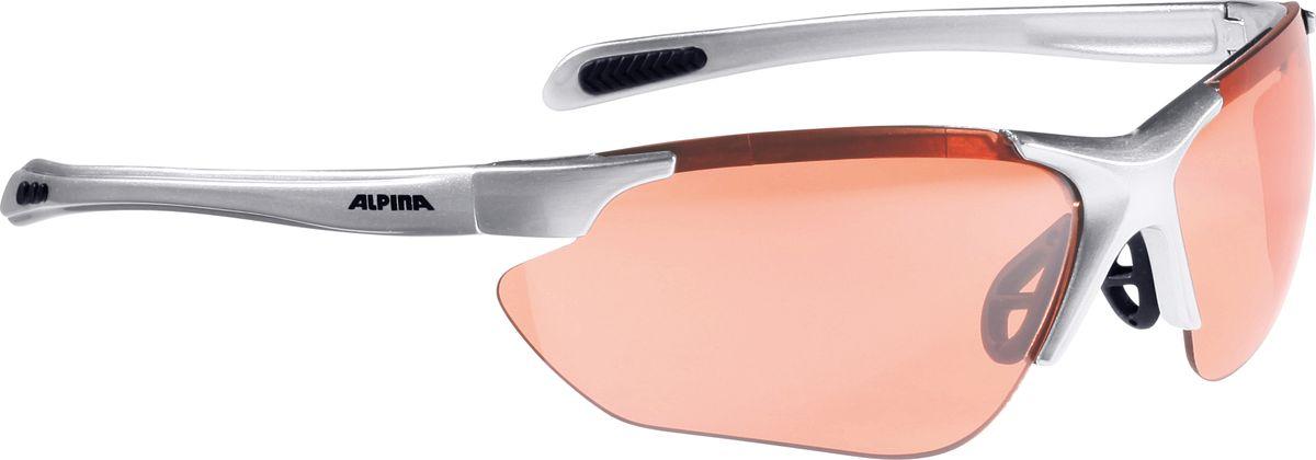 Очки солнцезащитные Alpina Jalix, цвет: черный, серебристый. 8560321ГризлиСолнцезащитные очки Alpina Jalix предназначены как для езды на велосипеде, так и для многих других видов спорта.Прорезиненная гибкая перегородка для носа и силиконовые наконечники на душках обеспечивают надежную фиксацию, а высококачественные керамические линзы обеспечивают защиту от ультрафиолетового излучения. Степень защиты: S3.