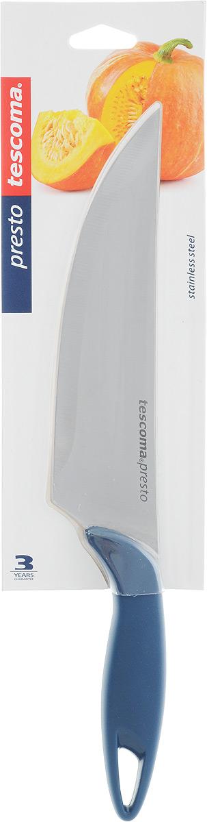 Нож кулинарный Tescoma Precioso, длина лезвия 17 см115510Кулинарный нож Tescoma Precioso идеально подходит для профессионального и домашнего использования. Лезвия выполнено из высококачественной немецкой нержавеющей стали и имеет основание в виде V-профиля. Нож оснащен эргономичной ручкой из пластика с противоскользящим покрытием.Можно мыть в посудомоечной машине. Длина лезвия: 17 см.Общая длина ножа: 31 см.
