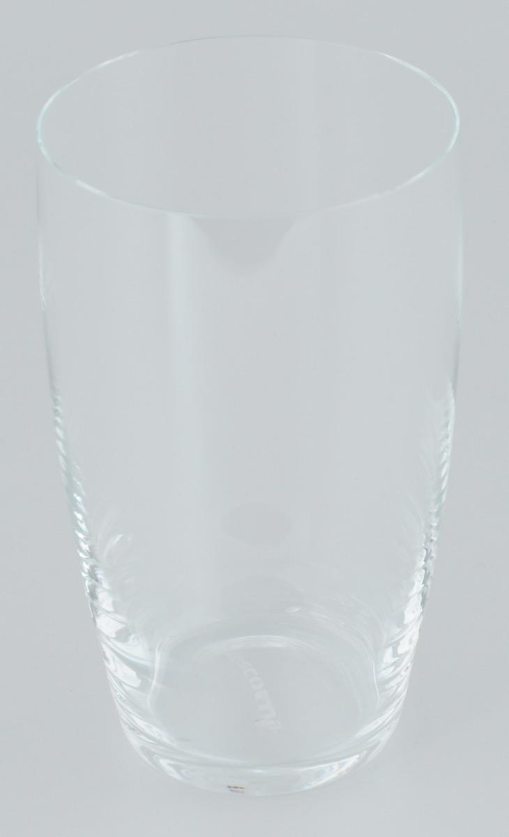 Стакан Tescoma Crema, 500 мл4630003364517Стакан Tescoma Crema изготовлен из прочного прозрачного стекла. Такой стакан прекрасно дополнит сервировку стола и порадует вас практичностью и классическим дизайном. Изделие можно мыть в посудомоечной машине.Диаметр (по верхнему краю): 8 см.Высота: 14 см.