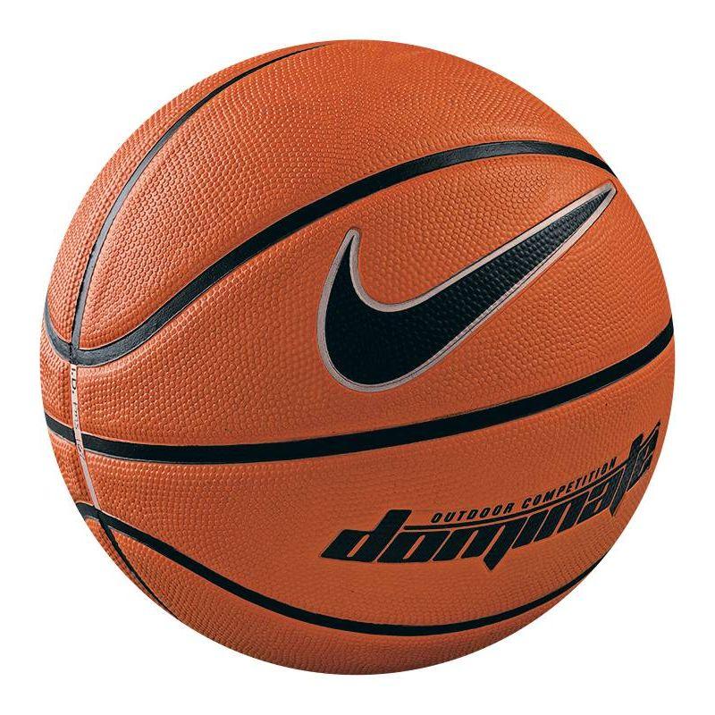 Мяч баскетбольный Nike Dominate, цвет: коричневый, черный. Размер 5УТ-00009331Детский баскетбольный мяч Nike Dominate Outdoor Kids Basketball (размер 5) со специальной текстурой и глубокими канавками для превосходного контроля над мячом идеален для дворовых игр на асфальтированных площадках. Особенности: упругое резиновое покрытие со специальной текстурой для контроля над мячом и специальная оболочка для превосходного сохранения формы. Предназначен для игр на свежем воздухе.
