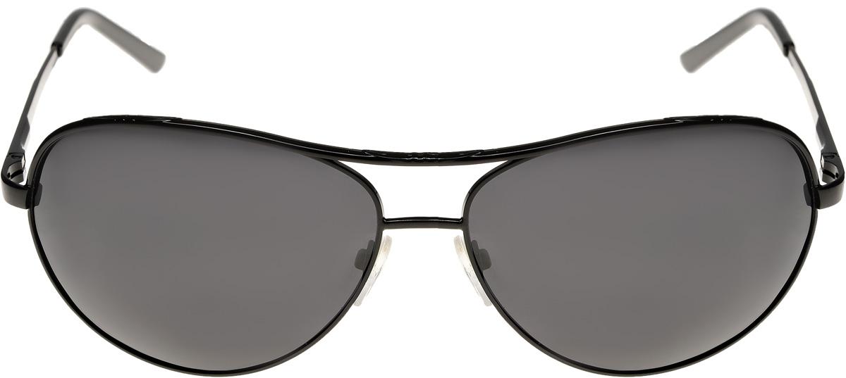 Очки солнцезащитные мужские Vittorio Richi, цвет: черный. ОС3831c01/17fEQW-M710DB-1A1Очки солнцезащитные Vittorio Richi это знаменитое итальянское качество и традиционно изысканный дизайн.