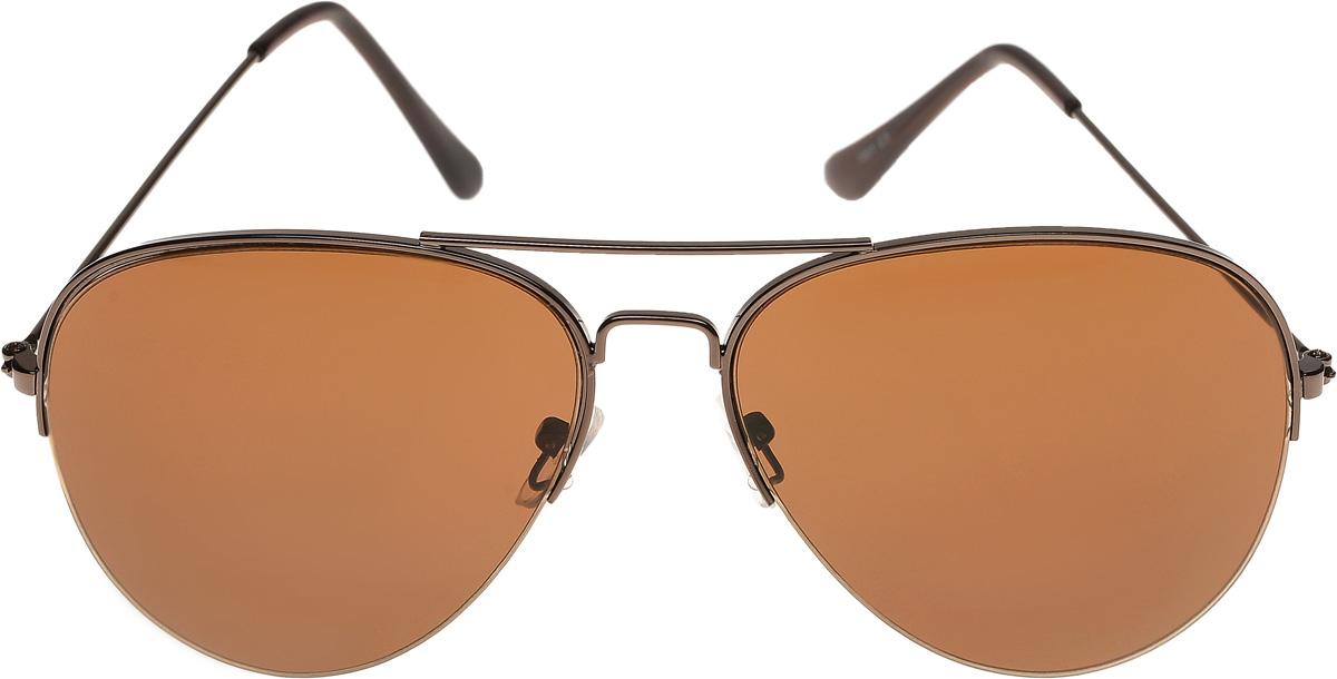 Очки солнцезащитные мужские Vittorio Richi, цвет: коричневый. ОС7001c3/17fINT-06501Очки солнцезащитные Vittorio Richi это знаменитое итальянское качество и традиционно изысканный дизайн.
