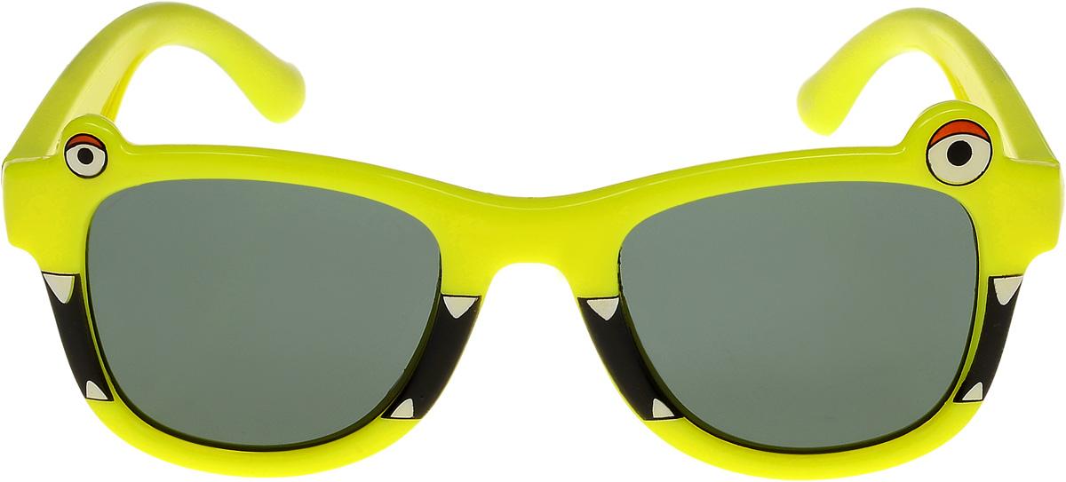 Очки солнцезащитные детские Vittorio Richi, цвет: желтый. ОСлягушки/17fINT-06501Очки солнцезащитные Vittorio Richi это знаменитое итальянское качество и традиционно изысканный дизайн.