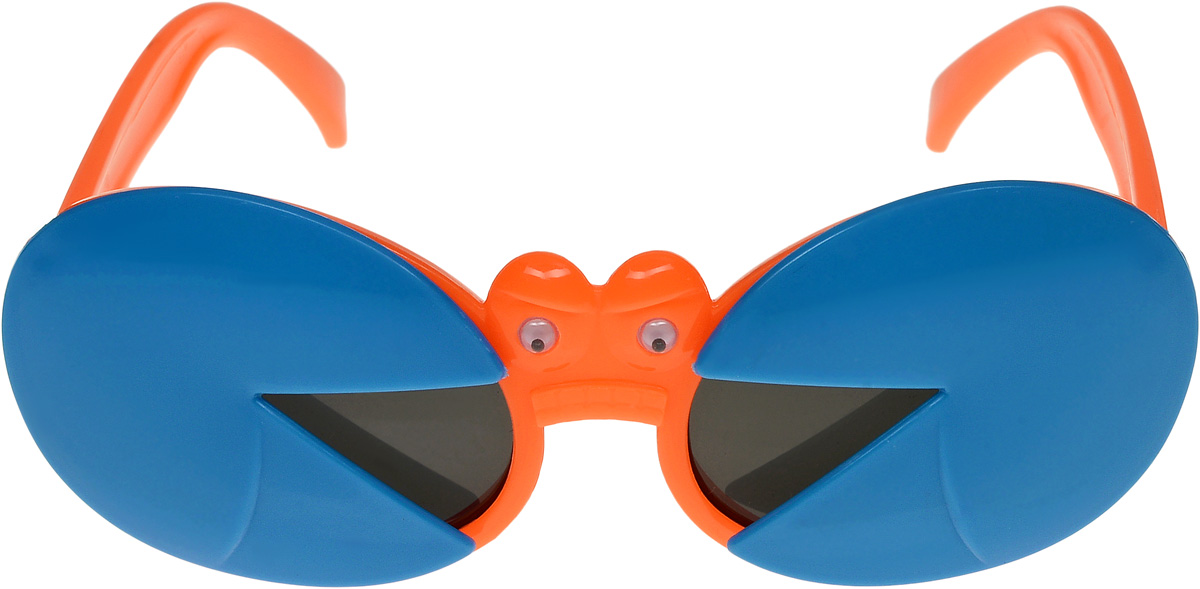 Очки солнцезащитные детские Vittorio Richi, цвет: синий, оранжевый. ОСкраб-/17fBM8434-58AEОчки солнцезащитные Vittorio Richi это знаменитое итальянское качество и традиционно изысканный дизайн.