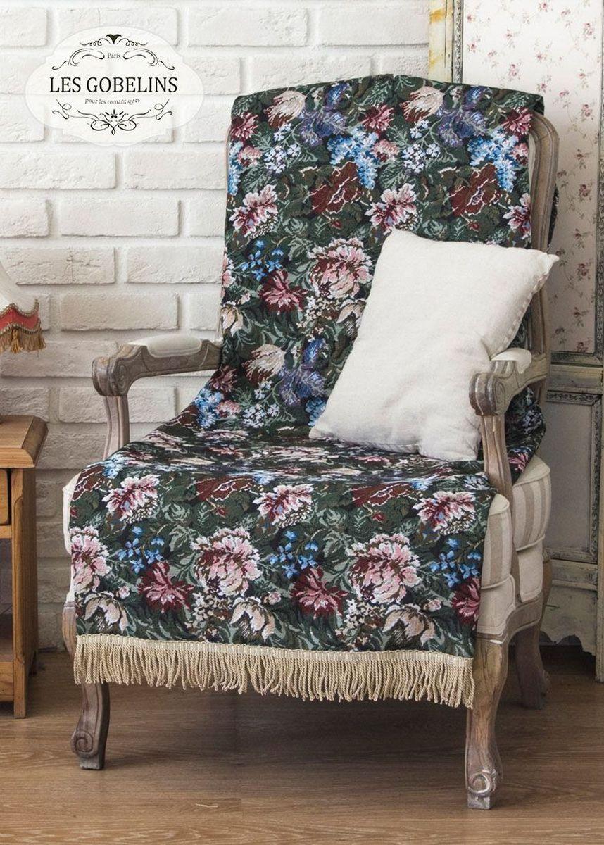 Покрывало на кресло Les Gobelins Jardin DAmerique, 50 х 120 смU210DFПокрывало на кресло Les Gobelins Jardin DAmerique с ярким цветочным рисунком привлечет к себе внимание и органично впишется в интерьер комнаты. Изделие изготовлено из высококачественной ткани гобелен и оформлено бахромой и кисточками. Необычайная красота сочетается в этом покрывале с высокой прочностью и долговечностью, а свойство гобелена по-разному проявлять себя в зависимости от освещения помещения позволяет открывать все новые и новые детали, которые, как казалось, раньше скрывал гобелен.Красочное и приятное на ощупь покрывало сделает интерьер спальни, детской или гостиной уютнее и своеобразнее. Состав материала: 60% хлопок, 40% полиэстер.
