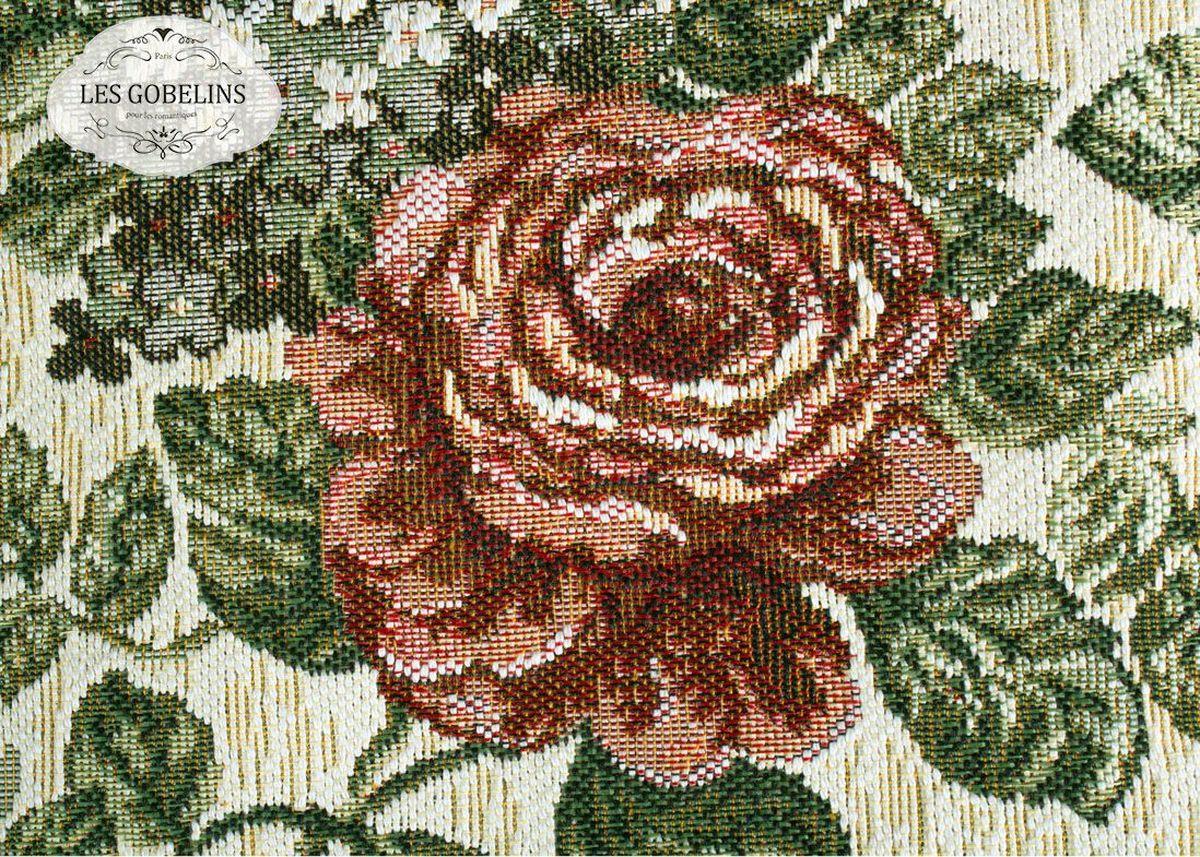 Покрывало на диван Les Gobelins Art Floral, 160 х 200 смlns187588Покрывало на диван Les Gobelins Art Floral с ярким цветочным рисунком привлечет к себе внимание и органично впишется в интерьер комнаты. Изделие изготовлено из высококачественной ткани гобелен и оформлено бахромой и кисточками. Необычайная красота сочетается в этом покрывале с высокой прочностью и долговечностью, а свойство гобелена по-разному проявлять себя в зависимости от освещения помещения позволяет открывать все новые и новые детали, которые, как казалось, раньше скрывал гобелен.Красочное и приятное на ощупь покрывало сделает интерьер спальни, детской или гостиной уютнее и своеобразнее. Состав материала: 52% хлопок, 48% полиэстер.