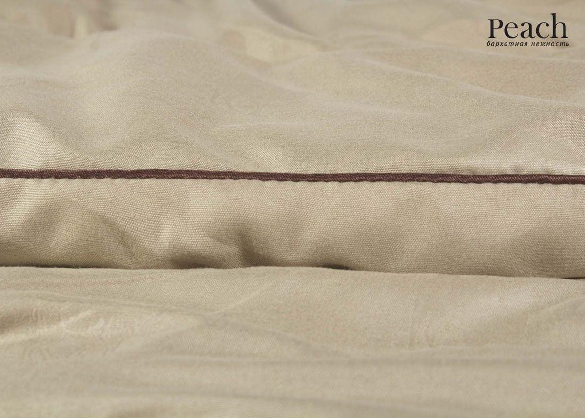 Одеяло теплое Peach, наполнитель: верблюжья шерсть, 200 х 220 см20.04.15.0086Стеганое теплое одеяло Peach превосходно согреет вас холодными ночами. Чехол одеяла изготовлен из микрофибры. Наполнитель - верблюжья шерсть с упругой основой из полиэстера. Одеяло превосходно удерживает тепло, хорошо поглощает и испаряет влагу. Благодаря тому, что одеяло стеганое, наполнитель внутри будет всегда распределен равномерно.Размер: 200 х 220 см.