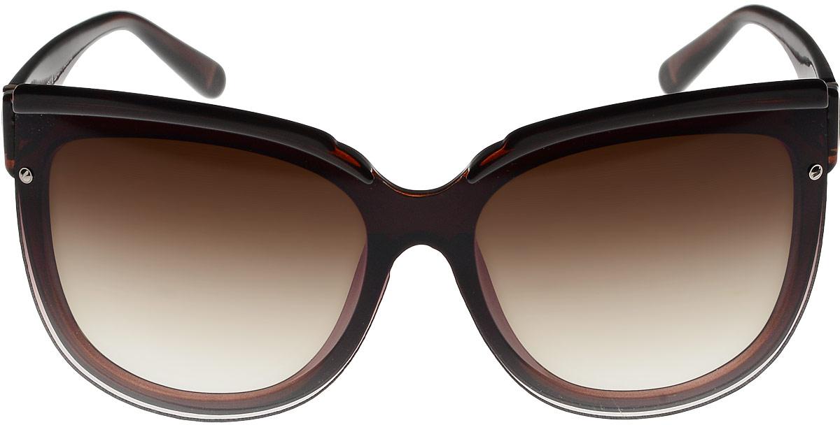 Очки солнцезащитные женские Vittorio Richi, цвет: коричневый. ОС4118c320-477-1/17fBM8434-58AEОчки солнцезащитные Vittorio Richi это знаменитое итальянское качество и традиционно изысканный дизайн.