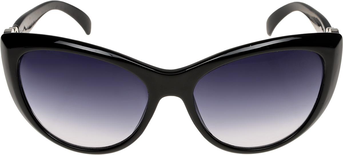 Очки солнцезащитные женские Vittorio Richi, цвет: черный. ОС1838с1/17fBM8434-58AEОчки солнцезащитные Vittorio Richi это знаменитое итальянское качество и традиционно изысканный дизайн.