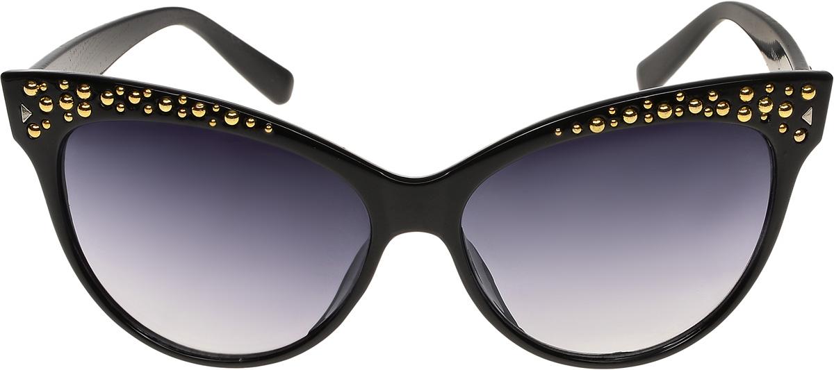 Очки солнцезащитные женские Vittorio Richi, цвет: черный. ОС1230с1/17fINT-06501Очки солнцезащитные Vittorio Richi это знаменитое итальянское качество и традиционно изысканный дизайн.