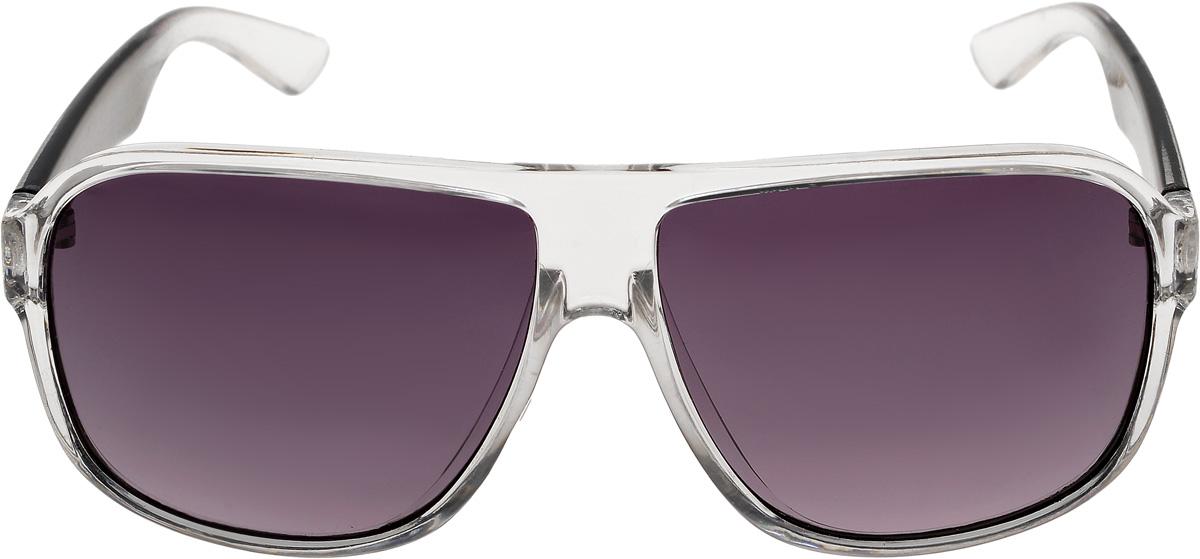 Очки солнцезащитные мужские Vittorio Richi, цвет: белый, черный. ОС80095-8/17fBM8434-58AEОчки солнцезащитные Vittorio Richi это знаменитое итальянское качество и традиционно изысканный дизайн.