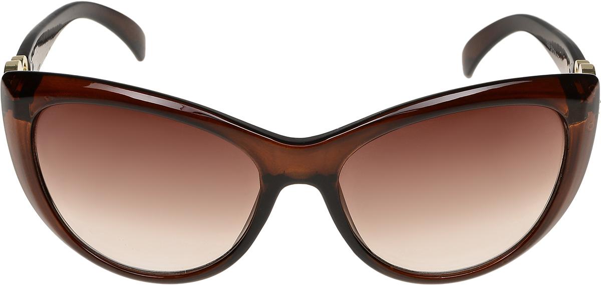 Очки солнцезащитные женские Vittorio Richi, цвет: коричневый. ОС1838с2/17fBM8434-58AEОчки солнцезащитные Vittorio Richi это знаменитое итальянское качество и традиционно изысканный дизайн.