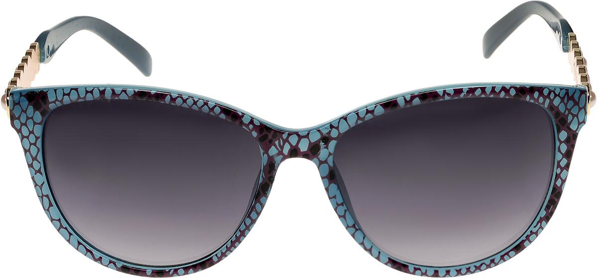 Очки солнцезащитные женские Vittorio Richi, цвет: голубой, вишнёвый. ОС1857с6/17fBM8434-58AEОчки солнцезащитные Vittorio Richi это знаменитое итальянское качество и традиционно изысканный дизайн.