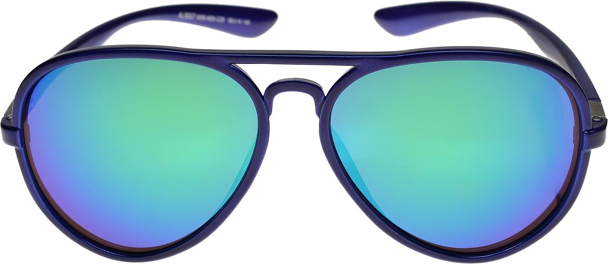 Очки солнцезащитные женские Vittorio Richi, цвет: синий, сиреневый. ОС9007с009-6851-29/17fBM8434-58AEОчки солнцезащитные Vittorio Richi это знаменитое итальянское качество и традиционно изысканный дизайн.