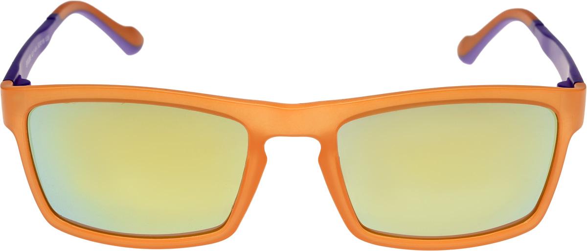 Очки солнцезащитные мужские Vittorio Richi, цвет: оранжевый, фиолетовый. ОС528c217-464/17fBM8434-58AEОчки солнцезащитные Vittorio Richi это знаменитое итальянское качество и традиционно изысканный дизайн.