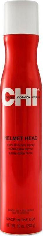 CHI Лак для волос CHI Голова в каске 284гр., шт.MP59.4DПридает волосам максимальный блеск. Не склеивает волосы и не оставляет белого налета. Подходит для ежедневного применения. Рекомендуется для всех типов волос.