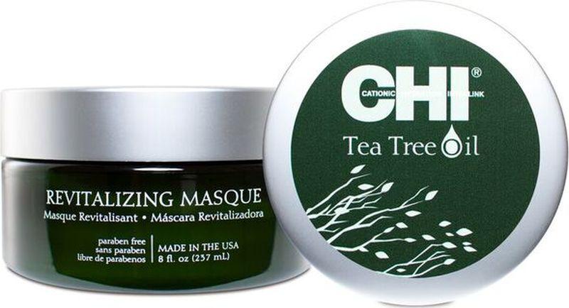 CHI Восстанавливающая маска с маслом чайного дерева, 157 млMP59.4DВосстанавливающая маска с маслом чайного дерева. Маска интенсивно увлажняет волосы, восстанавливая жизненные силы волос.
