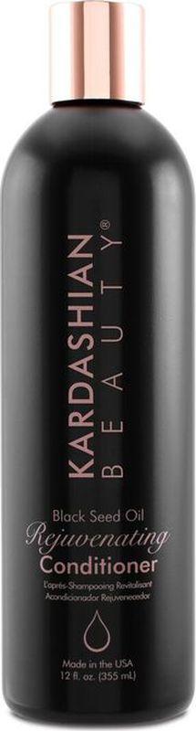 Kardashian Beauty Кондиционер для волос с маслом семян черного тмина/ Black Seed Oil Rejuvenating Conditioner, 12oz/355мл фл.72523WDВосстанавливает сухие поврежденные участки волос, заполняя витаминами и антиоксидантами.