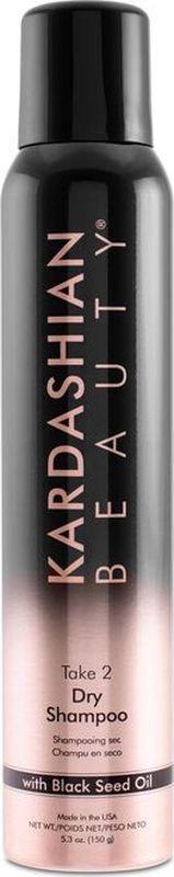 Kardashian Beauty Сухой шампунь Take 2 150гр09034372Оживляет тусклые, безжизненные волосы, мгновенно поглощая излишки жира и загрязнения.