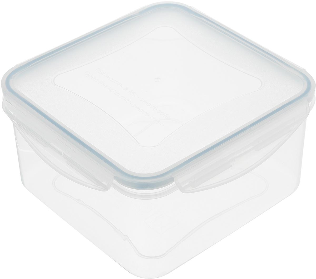 Контейнер Tescoma Freshbox, квадратный, 2 л21395599Квадратный контейнер Tescoma Freshbox замечателен для хранения и переноски продуктов. Выполнен из высокопрочной жаростойкой пластмассы, которая выдерживает температуру от -18°С до +110°С. Контейнера снабжен воздухонепроницаемой и водонепроницаемой крышкой с силиконовой прокладкой, которая гарантирует герметичность. Продукты дольше сохраняют свежесть и аромат, а жидкие блюда не вытекают. Контейнер очень вместителен, он отлично подойдет для хранения пищи дома, а также для пикников и выездов на природу. Контейнер пригоден для использования в холодильнике, морозильной камере и микроволновой печи. Допускается мытье в посудомоечной машине.Размер контейнера: 18 х 18 х 9 см.