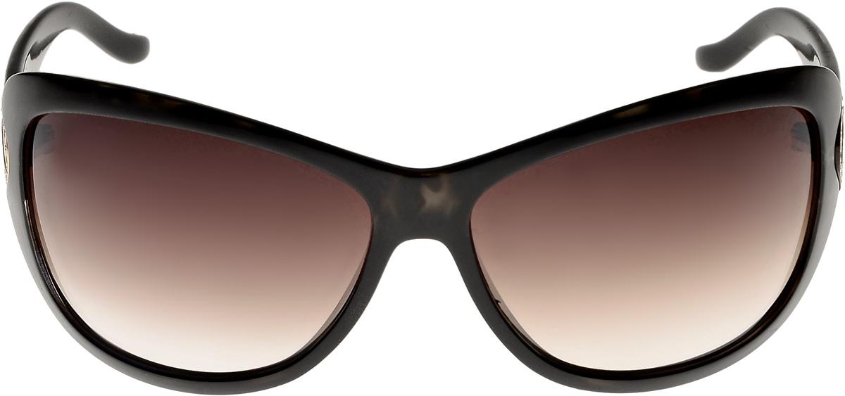 Очки солнцезащитные женские Vittorio Richi, цвет: коричневый. ОС151278 977-477-12R/17fINT-06501Очки солнцезащитные Vittorio Richi это знаменитое итальянское качество и традиционно изысканный дизайн.