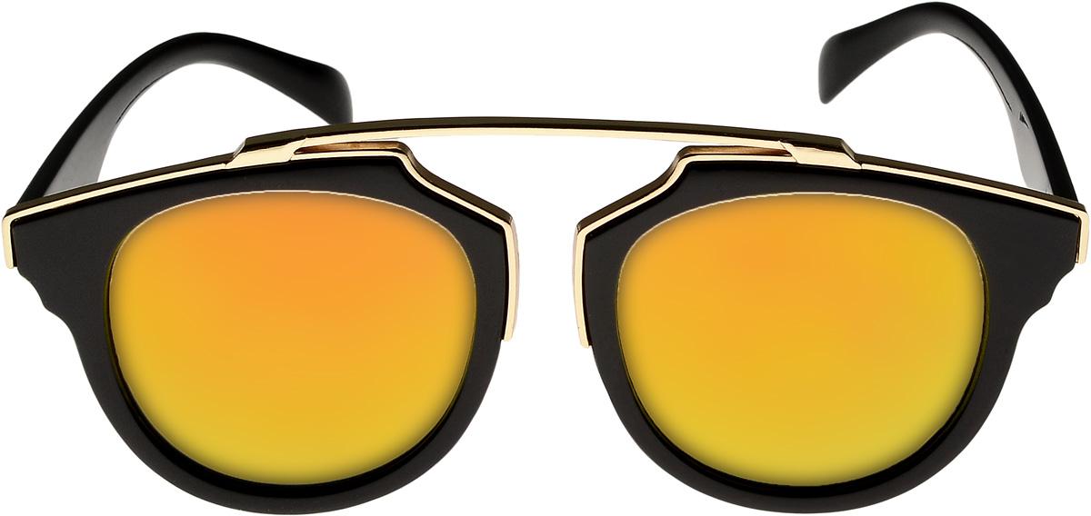 Очки солнцезащитные женские Vittorio Richi, цвет: черный, желтый. ОС9251с11/17fINT-06501Очки солнцезащитные Vittorio Richi это знаменитое итальянское качество и традиционно изысканный дизайн.