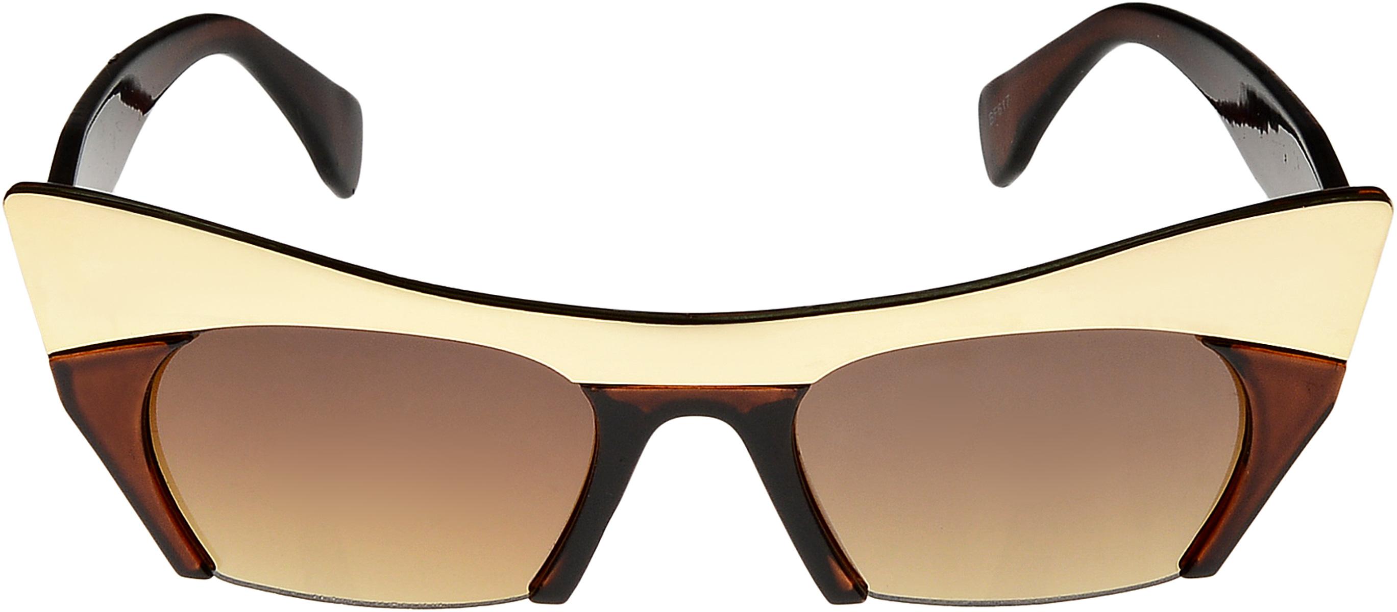 Очки солнцезащитные женские Vittorio Richi, цвет: коричневый. ОСкиски/17fINT-06501Очки солнцезащитные Vittorio Richi это знаменитое итальянское качество и традиционно изысканный дизайн.