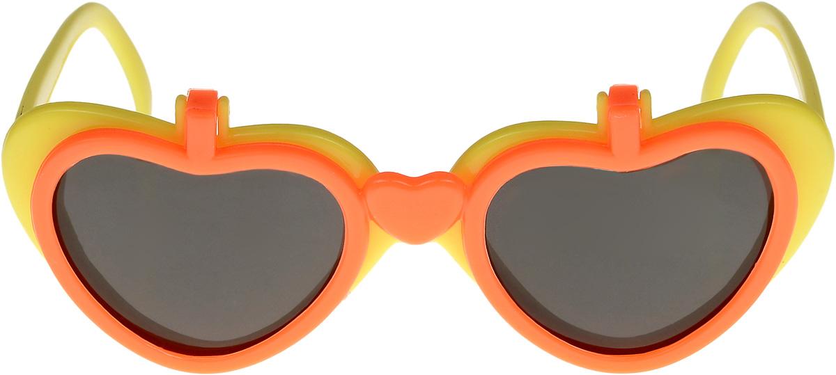 Очки солнцезащитные детские Vittorio Richi, цвет: желтый, оранжевый. ОС517/17fBM8434-58AEОчки солнцезащитные Vittorio Richi это знаменитое итальянское качество и традиционно изысканный дизайн.