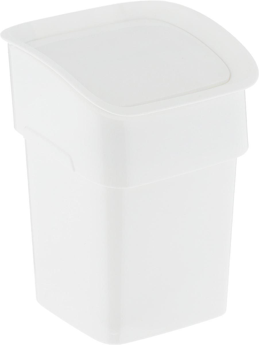 Контейнер для мусора Tescoma Clean. Kit, настольный, цвет: белый, 2,4 л1506-3Контейнер для мусора Tescoma Clean. Kit изготовлен из высококачественного прочного пластика. Такой аксессуар очень удобен в использовании как дома, так и в офисе. Контейнер снабжен удобной крышкой с подвижной перегородкой. Стильный дизайн сделает его прекрасным украшением интерьера.Можно мыть в посудомоечной машине.