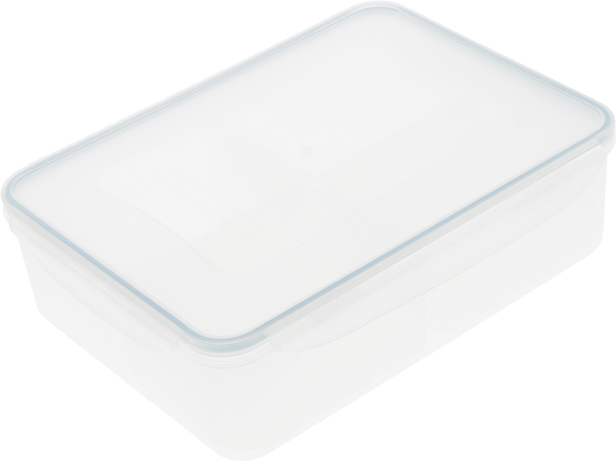 Контейнер Tescoma Freshbox, с мисками, 3,7 л116833_салатовыйКонтейнер Tescoma Freshbox, изготовленный из прочного пластика, отлично подходит для хранения и разогрева блюд. Герметичная крышка имеет силиконовый уплотнитель, пища остается свежей дольше и не протекает при перевозке. В комплекте с контейнером прилагаются 4 миски. Они предназначены для раздельного хранения различных блюд в одном контейнере.Подходят для холодильника, морозильных камер, микроволновой печи и посудомоечной машины.Размер контейнера (с учетом крышки): 29,5 х 22 х 8,5 см.Размер миски: 16,5 х 10 х 6,2 см.