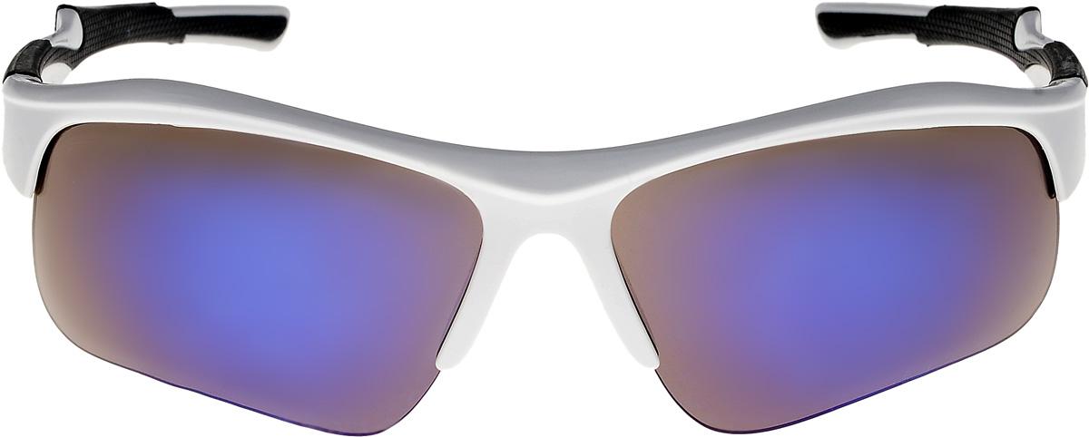 Очки солнцезащитные мужские Vita Pelle, цвет: белый, синий. ОС9006с04/17fINT-06501Очки солнцезащитные Vita Pelle это знаменитое итальянское качество и традиционно изысканный дизайн.