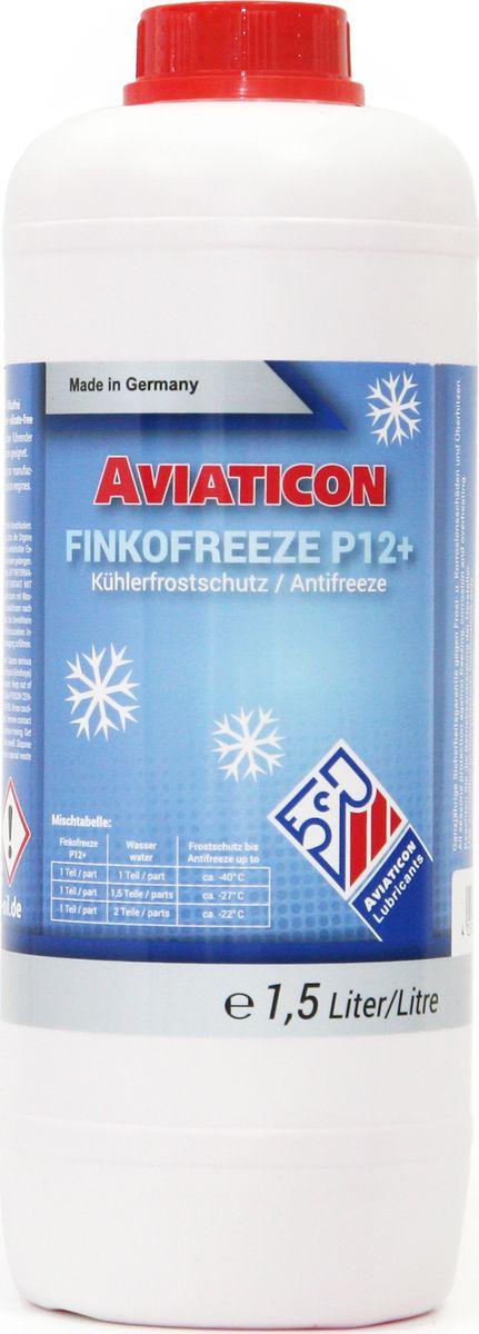 Антифриз Finke Aviaticon Finkofreeze P12+, 1,5 л4401Finke AVIATICON Finkofreeze P12+ - это концентрированный антифриз на основе этиленгликоля, содержащий пакет присадок, произведенных по OAT-технологии (Organic Acid Technology), в составе которого нет нитритов, аминов и фосфатов. Идеально подходит для алюминиевых двигателей и позволяет увеличить интервал замены до пяти лет. Антифриз должен быть разбавлен дистиллированной водой перед использованием в системе охлаждения. Предотвращает повреждения от замерзания и коррозии в системах охлаждения двигателей внутреннего сгорания, а также кавитацию в насосах. При этом неорганические и органические ингибиторы отвечают за защиту от коррозии системы охлаждения. Finke AVIATICON Finkofreeze P12+ обеспечивает надежную защиту от коррозии обычные и алюминиевые двигатели легковых автомобилей - до 250000 км, двигатели коммерческих автомобилей и автобусов - до 500000 км, в стационарных двигателях - до 16000 часов. Перед заменой антифриза в системах охлаждения, системах отопления и расширительных баках, следует слить старую жидкость и выполнить промывку соответствующей системы. Период эксплуатации не должен превышать 3-5 лет, поэтому необходимо соблюдать интервалы обслуживания транспортного средства или оборудования согласно инструкции эксплуатации производителя. Замечания по применению: Концентрат антифриза Finke AVIATICON Finkofreeze P12+ необходимо всегда смешивать с водой. Не используйте его в чистом виде. Убедитесь, что используете правильную воду (дистиллированную), в соответствии с условиями производителя. Обратите внимание на правильное соотношение смешивания. В случае каких-либо сомнений, используйте готовый раствор антифриза. Антифризы, произведенные по различным технологиям, не должны быть смешаны. Следуйте инструкциям изготовителя оборудования. Концентрация Finke AVIATICON Finkofreeze P12+ никогда не должна быть ниже 33% либо выше 60B&W D 36 5600; Cummins 85T8-2; Cummins 90T8-4; DAF 74002;Ford ESD M97B49-A; Ford ESE M97B49-