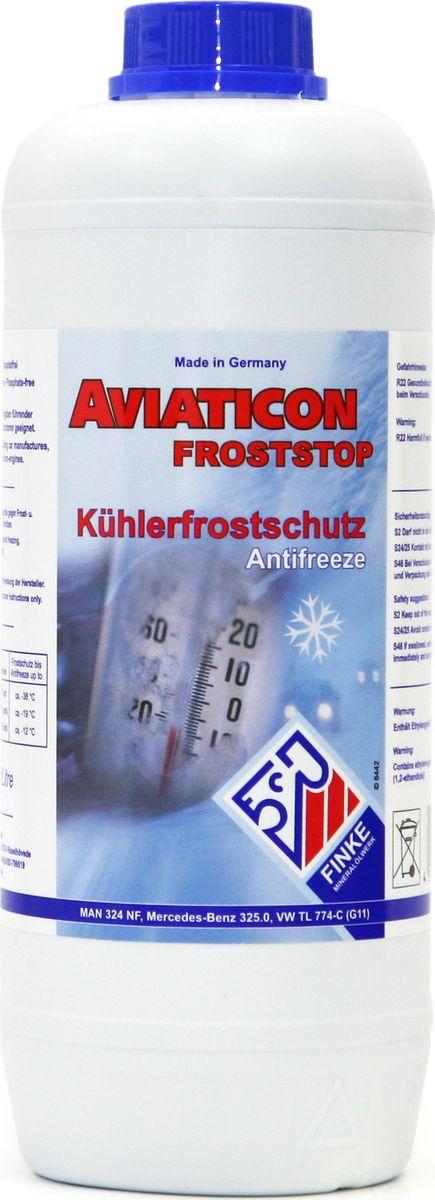 Антифриз Finke Aviaticon Finkofreeze P11, 1,5 л172764AVIATICON Finkofreeze P11 - концентрированный антифриз на основе этиленгликоля, содержащий пакет присадок, а также произведенные по современным технологиям ингибиторы коррозии. Не содержит нитритов, аминов и фосфатов. Подходит для алюминиевых двигателей. Должен быть разбавлен дистиллированной водой перед использованием в системе охлаждения.Он используется в системах водяного охлаждения двигателей внутреннего сгорания, а также системах отопления с использованием солнечной энергии при условии, что материалы, используемые производителями данных систем, устойчивы к воздействию продуктов на основе этиленгликоля. Предотвращает повреждения от замерзания и коррозии в системах охлаждения двигателей внутреннего сгорания, а также кавитацию в насосах. При этом неорганические и органические ингибиторы отвечают за защиту от коррозии системы охлаждения. Перед заменой антифриза в системах охлаждения, системах отопления и расширительных баках, следует слить старую жидкость и выполнить промывку соответствующей системы. Период эксплуатации не должен превышать 2-х лет, поэтому необходимо соблюдать интервалы обслуживания транспортного средства или оборудования согласно инструкции эксплуатации производителя. Замечания по применению: Концентрат антифриза AVIATICON Finkofreeze P11 необходимо всегда смешивать с водой. Не используйте его в чистом виде. Убедитесь, что используете правильную воду (дистриллированную), в соответствии с условиями производителя. Обратите внимание на правильное соотношение смешивания. В случае каких-либо сомнений, используйте готовый раствор антифриза. Антифризы, произведенные по различным технологиям, не должны быть смешаны. Следуйте инструкциям изготовителя оборудования. Концентрация AVIATICON Finkofreeze P11 никогда не должна быть ниже 33% либо выше 60% Mercedes Benz 325.0; MAN 324 NF; Volkswagen G 11 TL 774-C, ASTM D 3306/D 4985 BS 6580:2010 AFNOR N FR 15-60