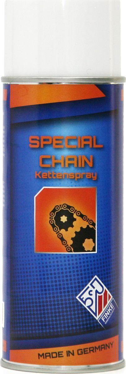Смазка Finke Aviaticon Special-Chain, 400 млS03301004Смазка Finke Aviaticon Special-Chain представляет собой синтетическую, прозрачную клейкую смазку для постоянной внутренней и внешней смазки сильно нагруженных цепей и канатов всех видов. Finke AVIATICON Special Chain является нейтральным, неагрессивным смазочным материалом, снижает шумность цепей и канатов. Применение: - для промышленности, ремесленников и ремонта, - применяется для цепей, подшипников, канатов и проволоки, - для автотранспортных средств, мотоциклов, мопедов, машин, промышленных цепей, цепей внутренних подшипников и т.д. Важно: Перед применением поверхности должны быть тщательно очищены, чтобы обеспечить равномерное нанесение и образование тонкой однородной пленки из смазочного материала. При распылении баллон должен находиться в вертикальном положении, а распыление должно быть произведено тонко и равномерно с расстояния около 30 см. Не допускать нагрев баллончика свыше 50°С, защищать от прямого солнечного света. Не допускать распыление на открытый огонь или горящие объекты. Запрещается бросать пустой баллончик в огонь. Преимущества: - простота в использовании, - хорошая адгезия, - хорошие грязе- и водоотталкивающие свойства, - высокая термостойкость, - малое количество брызг при попадании на поверхность.