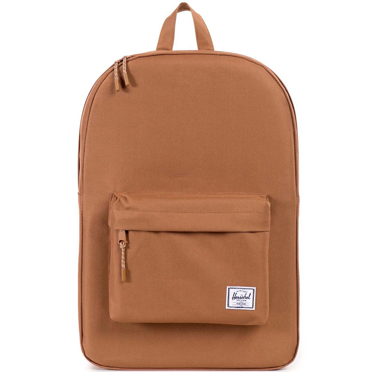 Рюкзак городской Herschel Classic (A/S), цвет: светло-коричневый. 828432048359RivaCase 8460 blackРюкзак Herschel Classic целиком и полностью оправдывает свое название, выражая совершенство в лаконичных и идеальных линиях. Этот рюкзак создан для любых целей и поездок и отлично впишется в абсолютно любой стиль.
