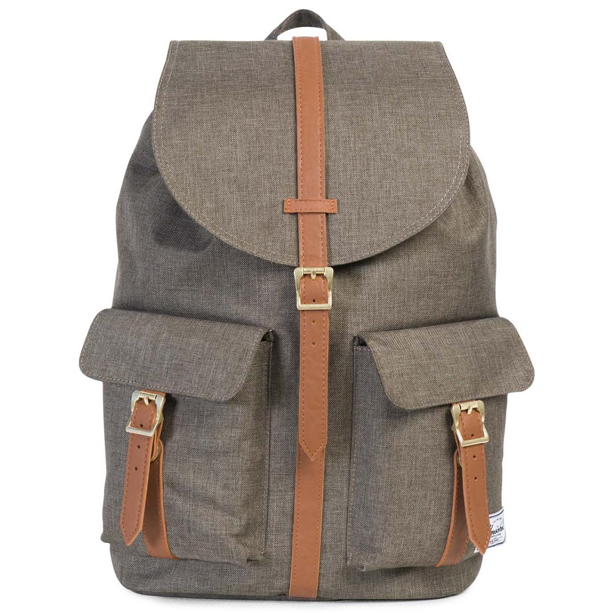 Рюкзак городской Herschel Dawson (A/S), цвет: хаки. 82843212260895940-905Рюкзак Herschel Dawson ™ функциональный и вместительный, создан для разведки. Удобные внешние карманы.