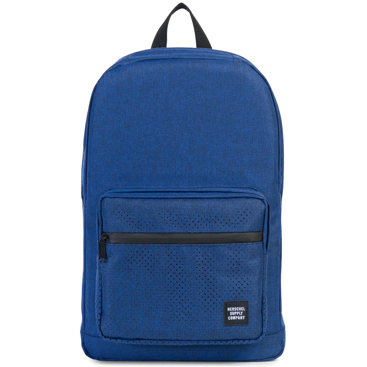 Рюкзак городской Herschel Pop Quiz (A/S), цвет: синий. 828432122929FF718LiCDРюкзак Herschel Pop Quiz выполнен из высококачественного материала. Этот рюкзак создан для любых целей и поездок и отлично впишется в абсолютно любой стиль. Основное отделение закрывается на застежку-молнию. Внешняя сторона дополнена накладным карманом на застежке-молнии. Лямки регулируются, что позволяет менять положение рюкзака на спине.