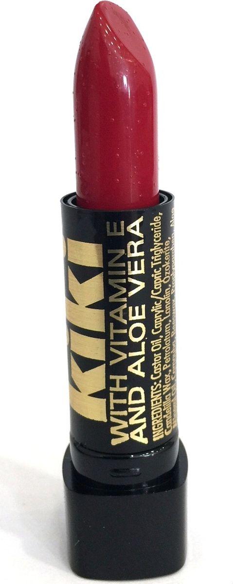 Kiki Помада с aloe & vit E 066 REAL RED, 4 гр131100239В состав классической губной помады KIKI введены группы витаминов и масел, которые защищают, разглаживают, смягчают губы и усиливают передачу глубины цвета. Благодаря особым молекулярным соединениям, помада легко наносится и ровно ложится на губы.